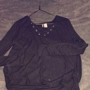 Long black sleeve shirt